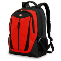 Mochila Para Laptop Swissgear Negro Y Rojo Modelo Sa9769