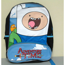 Mochila Adventure Time Jake & Finn 16in Bioworld