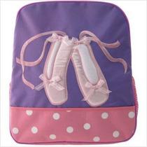 Mochila Niños Bailarinas De Ballet Purpura