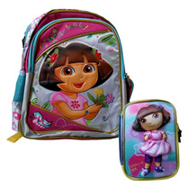 Paquete Escolar Dora La Exploradora En 3d