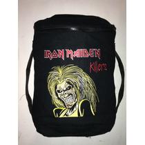 Mochila , Backpack , Iron Maiden, Bordada