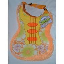 Mochila Guitarra Mochila Forma Infantil Flor De Nara
