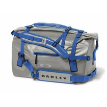Maleta Oakley Motion Duffle 42 L Steel/blue Nueva Remato