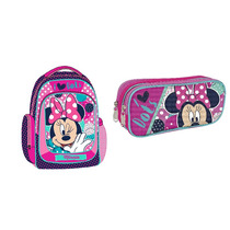 Kit Mochila Y Lapicera Disney Minnie Mouse
