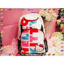 Mochila Hello Kitty Mochila Escolar Para Niños Coloridos