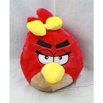 Mochila Rojo Angry Bird De Felpa
