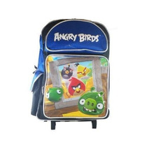 Mochila Angry Birds Red Black Bird