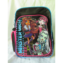 Mochila Monster High 100% Original