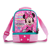 Hermosa Lonchera Escolar Minnie Mouse Disney Original