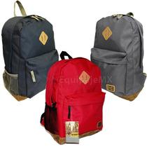 Mochilas Back Pack Escolar Paseo Nicks Club 3 Colores Unisex