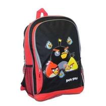Mochila Angry Birds Rojo Con Negro
