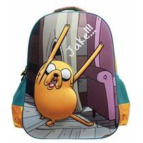 Mochila Carrito Llantitas Hora De La Aventura Adventure Time
