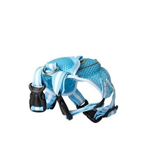 Mochila Pet Life Mesh Dog Harness Backpack With Pouch [blue,
