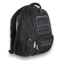 Moderna Mochila Con Panel Solar Para Cargar Aparatos Elect.