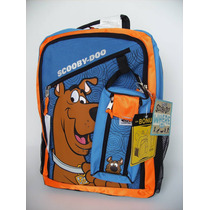 Mochila Escolar Scooby Doo Con Lapicera, Primaria, Remate
