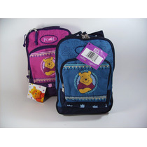 Mochila Kinder Disney Winnie Pooh, Niña, Preescolar