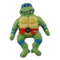 Mochila Teenage Mutant Ninja Turtles Leonardo Felpa Figura M