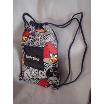 Angry Birds Morrales Originales Y Al Mejor Precio Real !!!