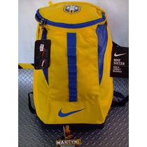 Mochila Brasil Nike Soccer Shield Mercurial C/zapatera