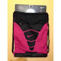 Mochila Morral Nike Rosa 100% Original Oferta Gym Escuela