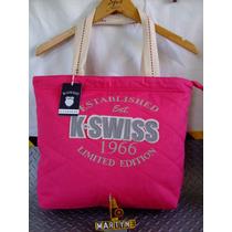 Bolso K* Swiss Loneta Original Importado