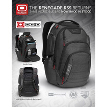 Mochila Backpack Ogio Renegade Rss Black Pindot