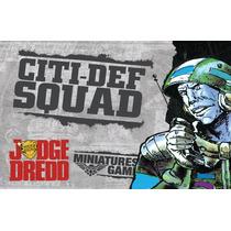 Warlord Juez Dredd - Juegos Citi Def Defensa Squad