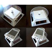 Display Solar Exhibidor Giratorio Miniaturas Nanoblocks