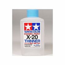 X 20 Thinner Para Esmalte 250 Ml Original Tamiya