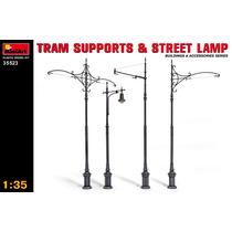 Modelo De Construcción - Tranvía Soporta & Street Lamps 1: