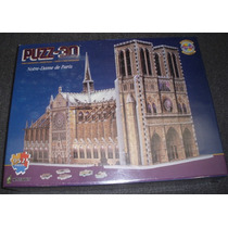 Iglesia Notre Dame Catedral 3d Armar Enorme 952 Piezas Puzz