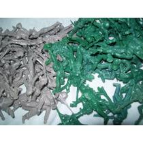 Gcg Lote De Figuras De Soldados Soldaditos Verde Y Gris