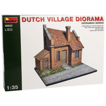 Edificio Modelo - Dutch Village Diorama 1:35 Miniart Plásti
