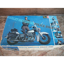 Tm.revell 1/8 Harley-davidson Police Bike Vintage