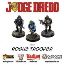 Warlord Juez Dredd - Juegos Rogue Trooper, Souther Y Nort
