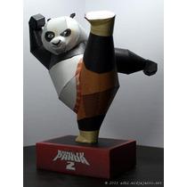 Kunfu Panda ( Para Armar En Papel)