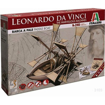 Italeri Barco De Palas Leonardo Davinci Armar / Revell
