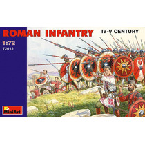 Los Soldados De Infantería Romana Modelo - Iv-vc 1:72 Minia
