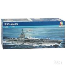 Barco Italeri Porta Aviones Uss America 1/720 / Revell