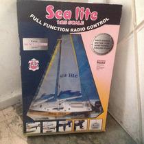 Barco Velero A Radio Control Con Motor A Escala