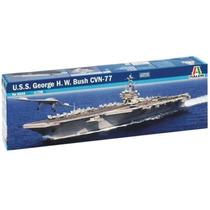Barco Italeri Porta Aviones Uss George Bush 1/720 Armar