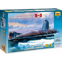 Zvezda Submarino Nuclear K3 Ruso 1/350 Armar/ Barco Revell