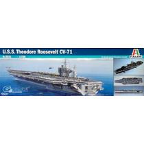 Barco Italeri Porta Aviones Roosevelt 1/720 Armar Y Pintar