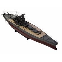 Barco Barquito Escala Musashi Juguete Coleccionable