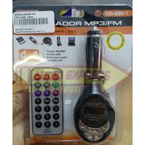 Modulador Fm Mp3/usb Con Control Remoto Dxr130255-1