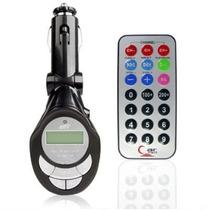 Transmisor Fm Coche Usb Sd Celulares Control Remoto