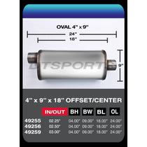 Silenciador Deportivo Tipo Magnaflow Flow Ii 18 Lc Y Ll