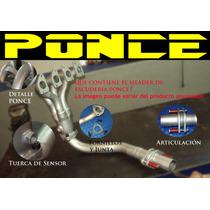 Header Ponce Mini Cooper Aspirado 1600 Y S Supercargados
