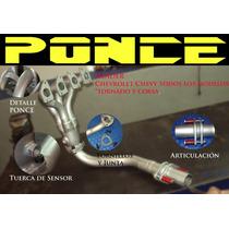 Header Ponce Racing Chevy Corsa Tornado Todos Sp0