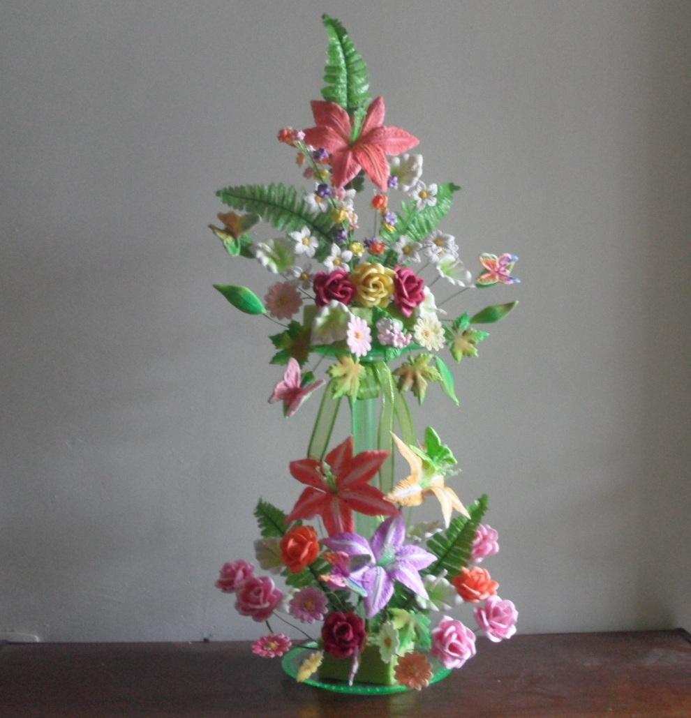 Moldes Para Hacer Flores Y Figuras De Fomi ( Fomy Foamy ...